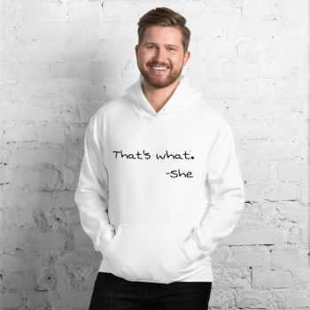 that's what she said sweater - White 2