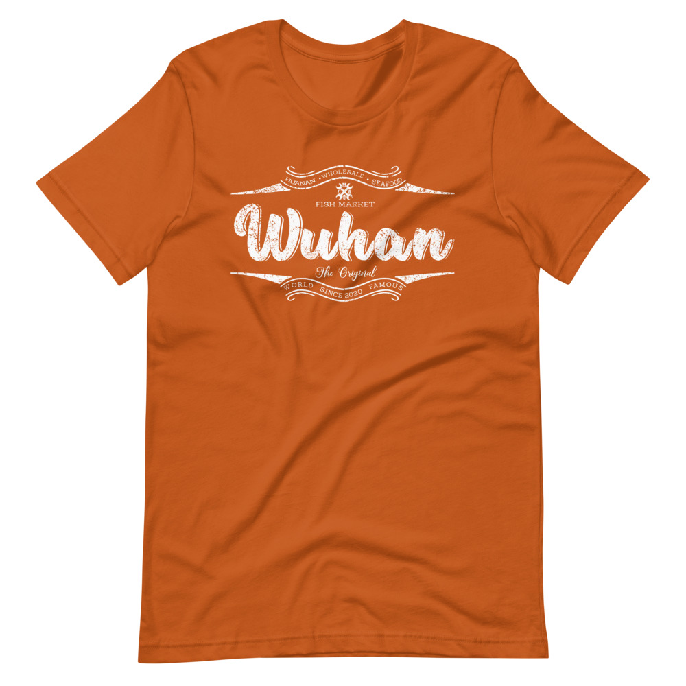Wuhan Shirt Orange