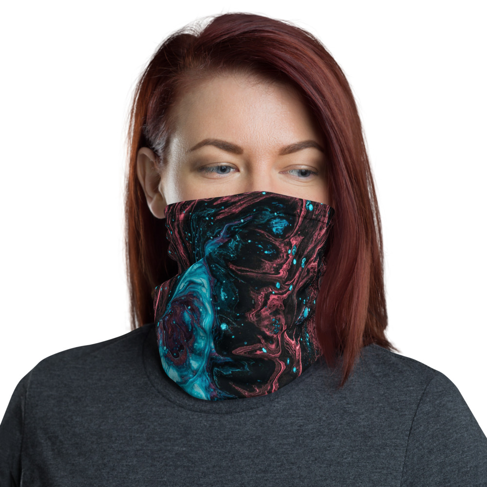Face Mask and Neck Warmer - Front