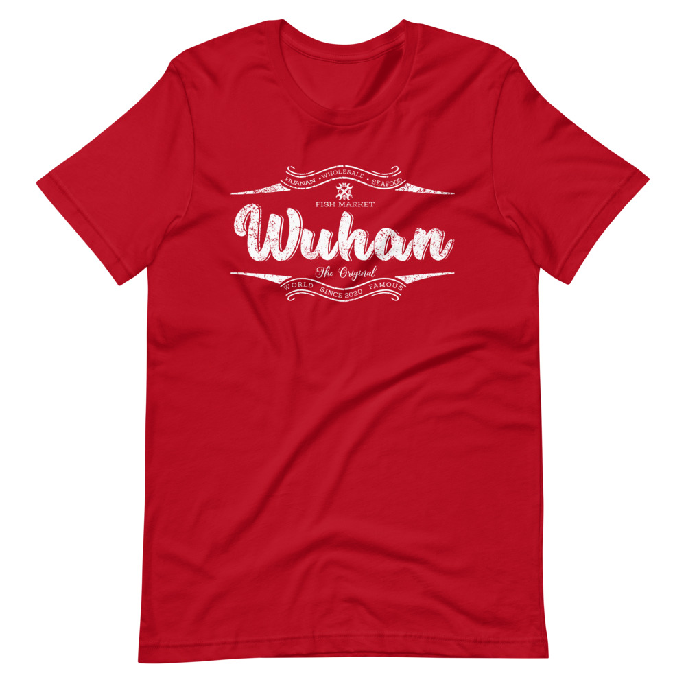 Wuhan Shirt Red