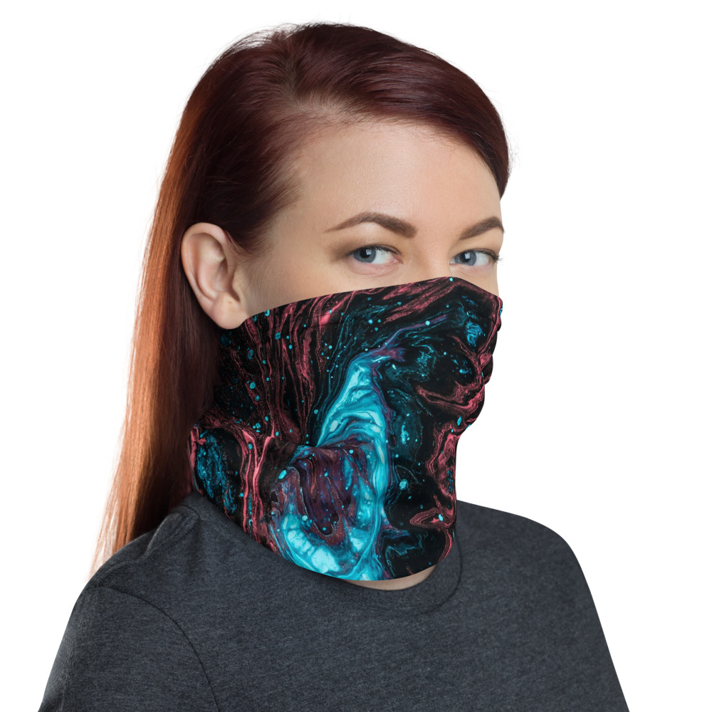 Face Mask and Neck Warmer - Right