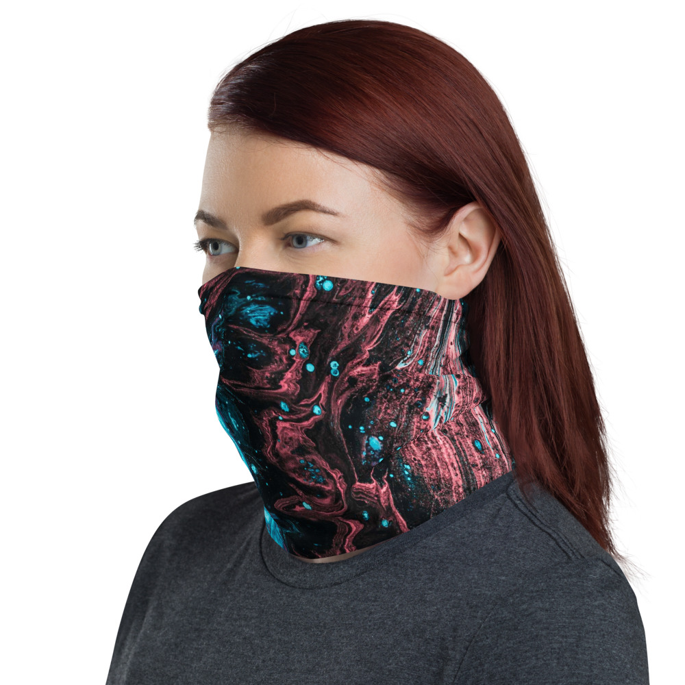 Face Mask and Neck Warmer - Left