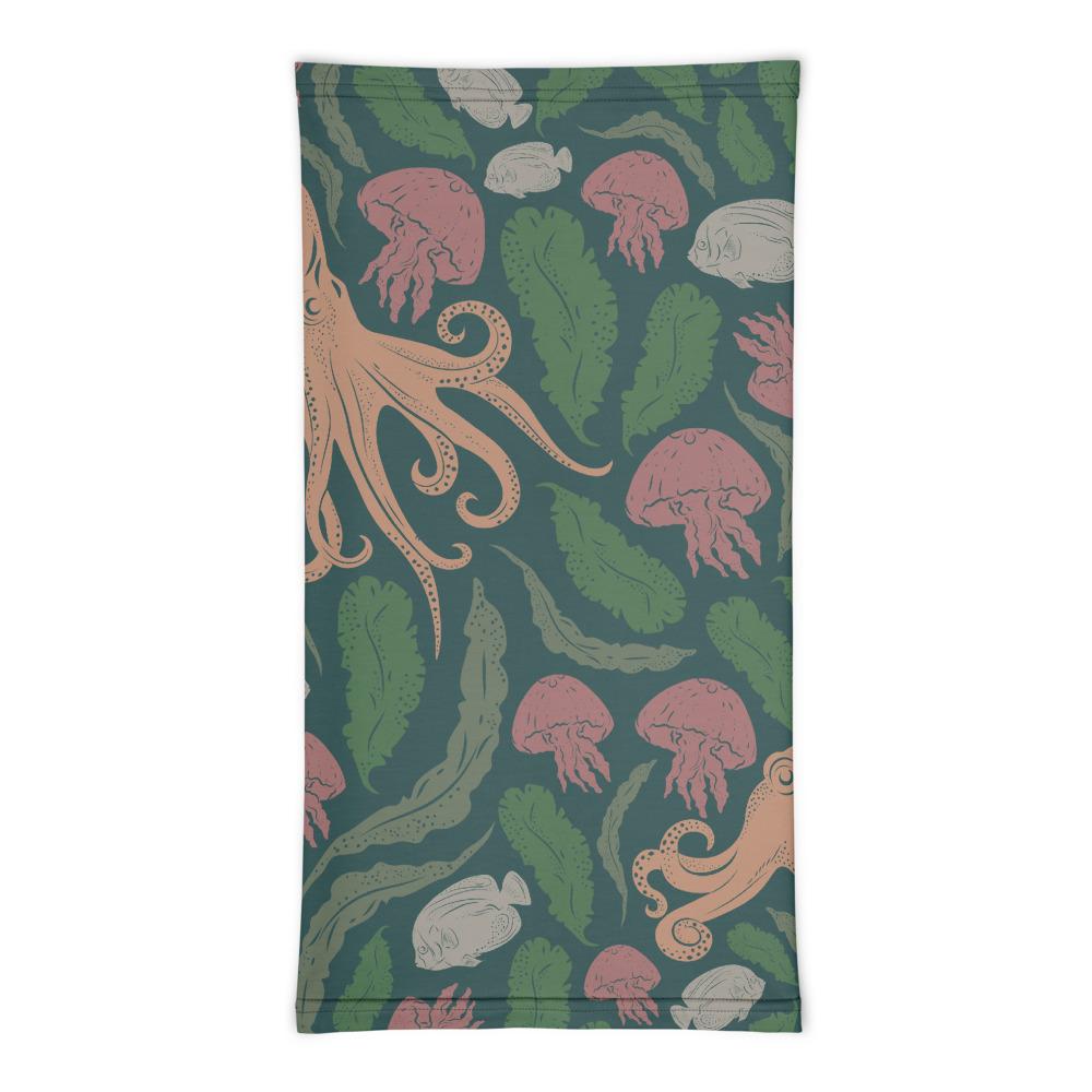 Octopi Neck Gaiter - Flat Back