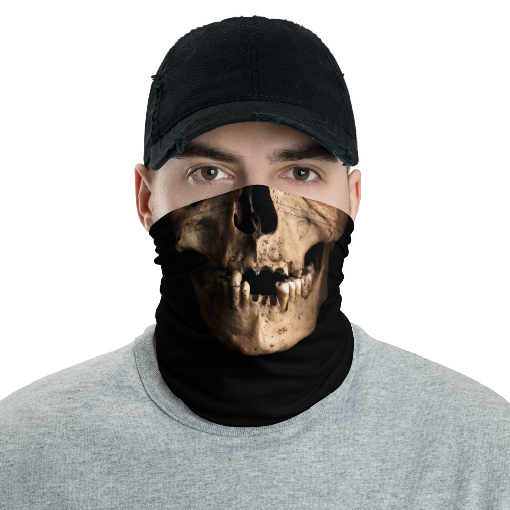 face warmer mask - Front