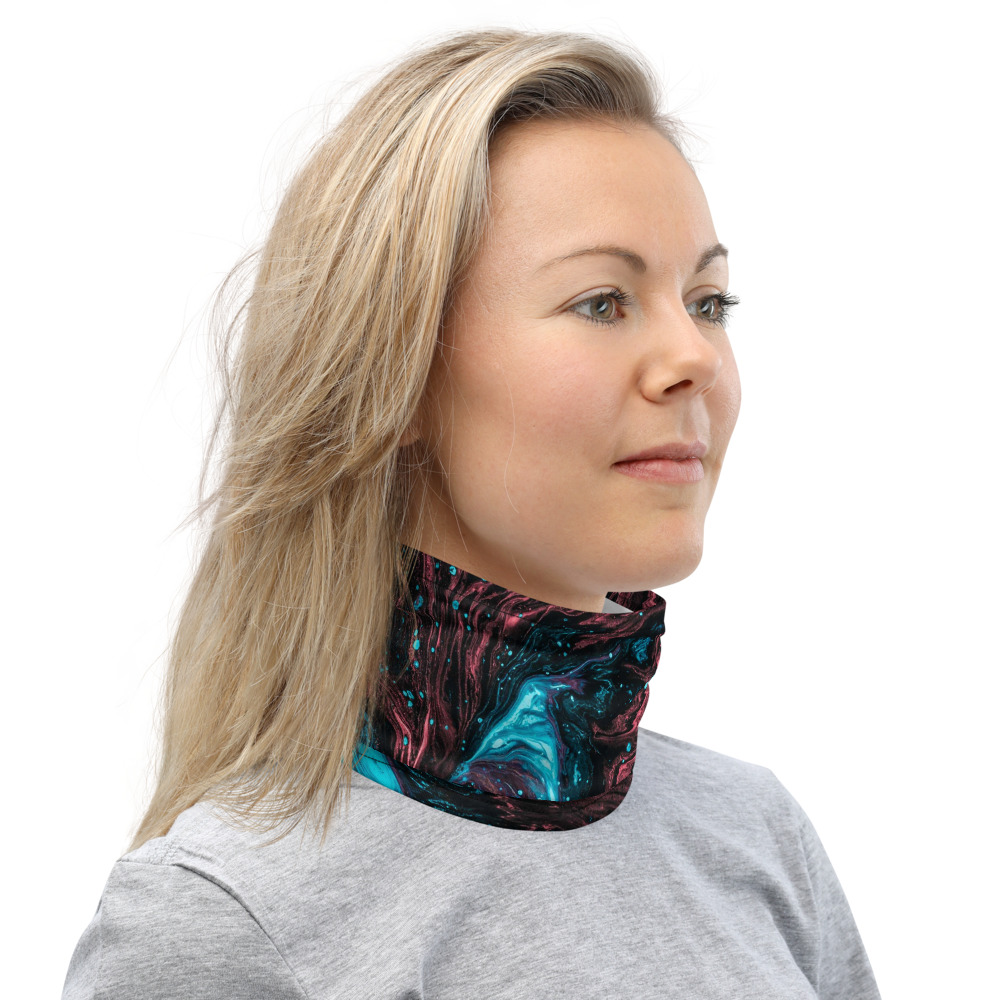 Face Mask and Neck Warmer - Neck Right