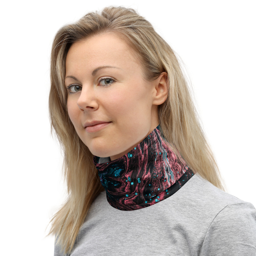 Face Mask and Neck Warmer - Neck Left